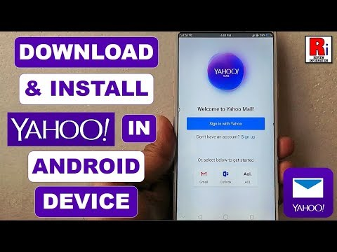 DOWNLOAD & INSTALL YAHOO MAIL APP IN ANDROID DEVICE
