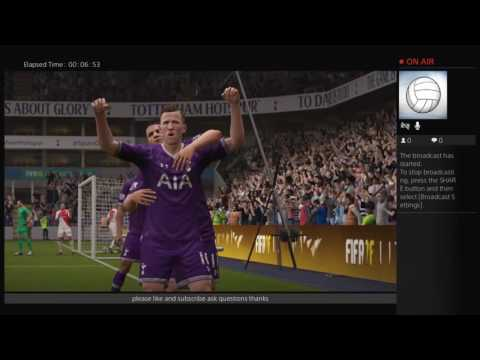TOTTENHAM V AS MONACO FREE FULL MATCH HD FIFA 17 LIVE CHAMPIONS LEAGUE 14/09/2016 SCORECAST THFC