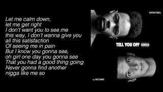 "Devvon Terrell - ""Tell You Off"" Ft. Witt Lowry (Lyrics)"