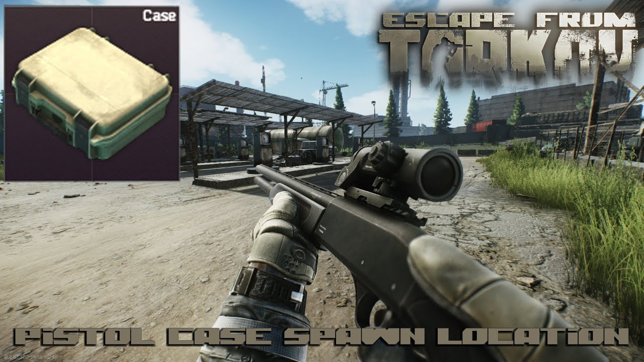 Escape Pistol From Tarkov Case Spawn Location qUSzMVp