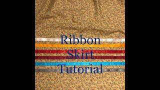 Ribbon Skirt Tutorial With Billie Jo Kruger