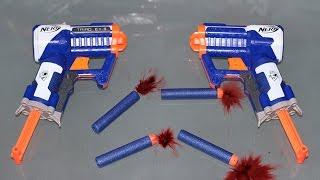Nerf Triad Ex-3 Blaster WAR!!