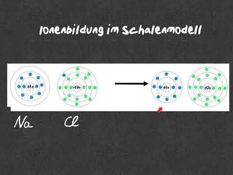 Ionenbildung im Schalenmodell
