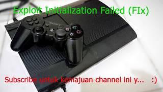 PS3 Exploit Initialization Failed (Fix)
