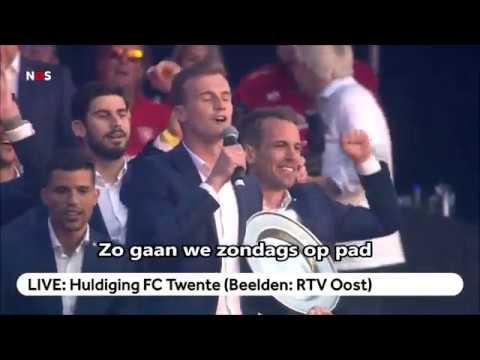 Hasj, coke en pillen FC Twente (huldiging 2019)