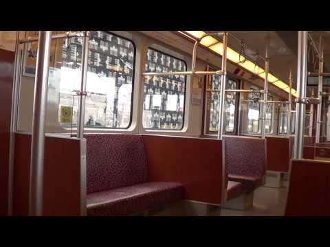 U-Bahn Berlin - Mitfahrt F79.1 von/nach Kaulsdorf-Nord(U5)[HD 1080p]