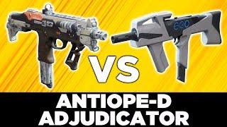 Destiny 2: Best Kinetic SMG - Antiope D vs Adjudicator