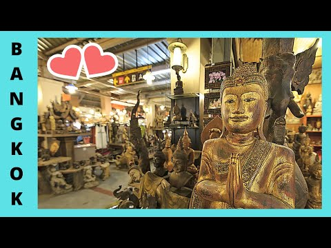 BANGKOK: wonderful ANTIQUES for sale at the CHATUCHAK MARKET (THAILAND)