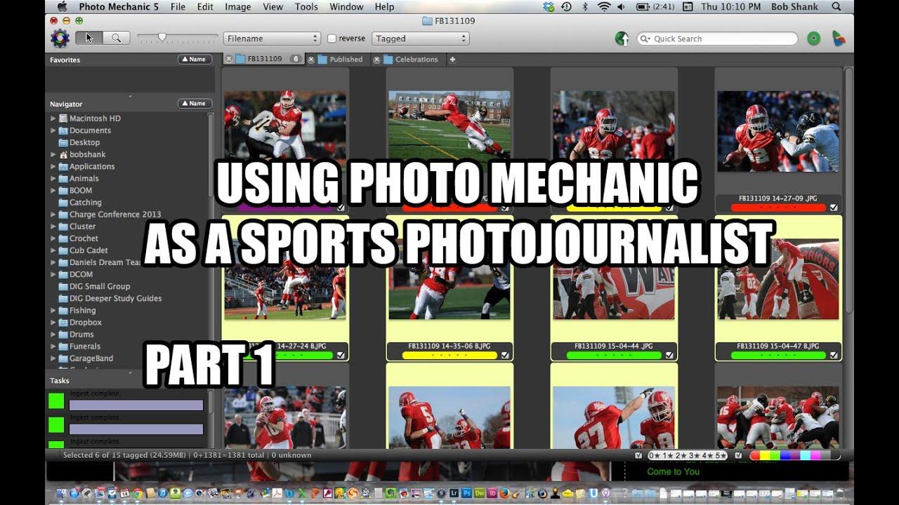 Using Photo Mechanic 5 as a Sports Photojournalist - Part ...