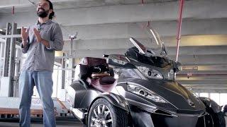 Prueba Can-Am Spyder RT 2014 (Español)