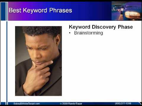 Researching for Your Best Keyword Phrases
