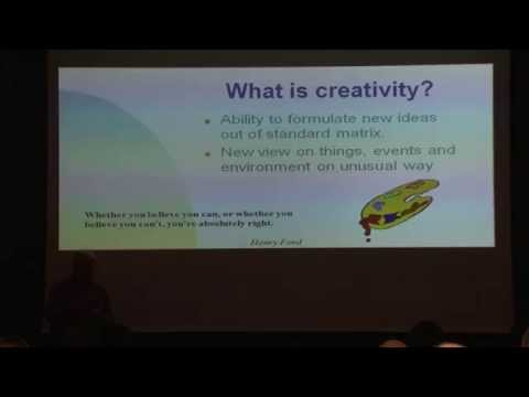 "Korado Korlevic: ""Driving the Creativity"" Agileadria2015"