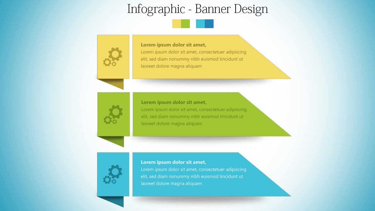 InfoGraphic Tutorial in Photoshop #04 - Banner Style ...