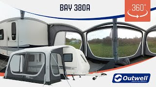 Outwell Bay 380A Air Awning - 360 video (2019)