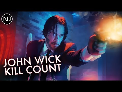 THE JOHN WICK KILL COUNTER | Keanu Reeves | 2015 [HD]