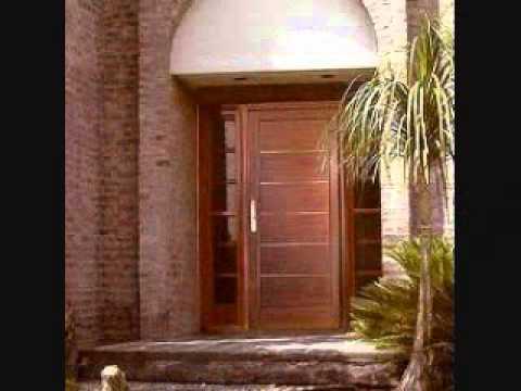 Puertas de madera youtube for Catalogo de puertas de madera modernas