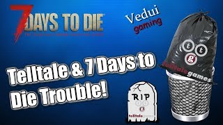 7 Days To Die Console Update Trouble | Telltale vs Fun Pimps! | XBOX Playstation @Vedui42