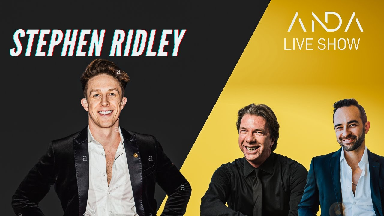 ANDA Live Show con ospite Stephen Ridley