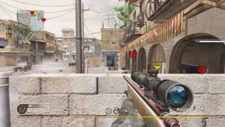 Call of Duty 4 - Search and Destroy 22 - Crossfire (M40A3)