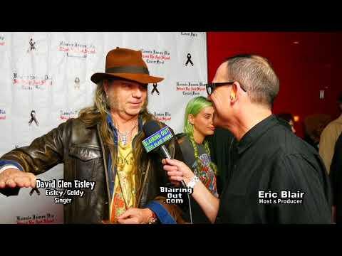 David Glen Eisley & Eric Blair talk Dio ,Eisley Goldy & Frontiers Records 2017