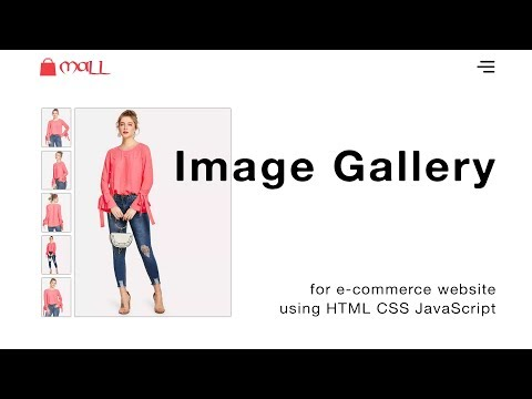 How To Make Image Gallery In HTML CSS JavaScript | Create Image Gallery In HTML Website