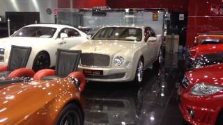 Luxury cars Dubai megastar motors !!