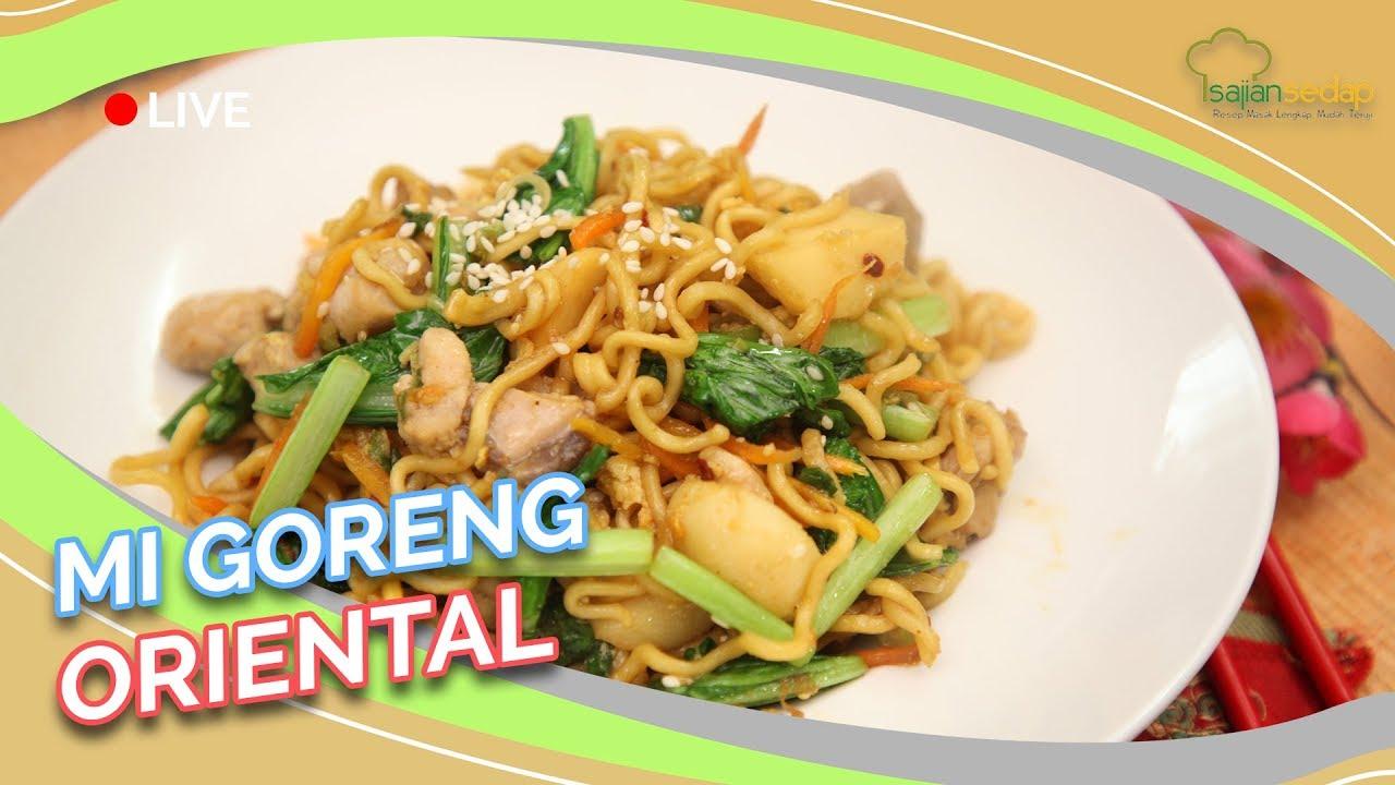 Resep Mi Goreng Oriental Ala Resto Yang Gampang Banget Dibuat