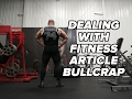 "Dealing With Bull**** Fitness Articles & ""Must Do"" Exercises"