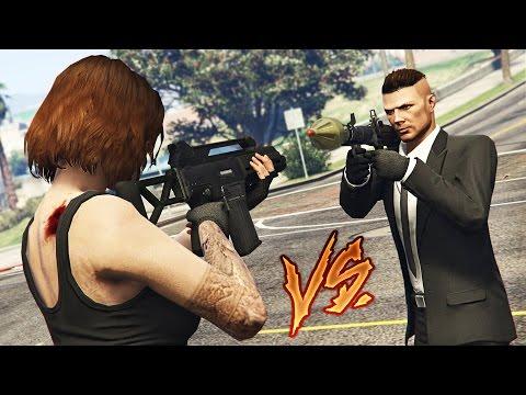 ULTIMATE BOYFRIEND vs GIRLFRIEND CHALLENGE!! (GTA 5)