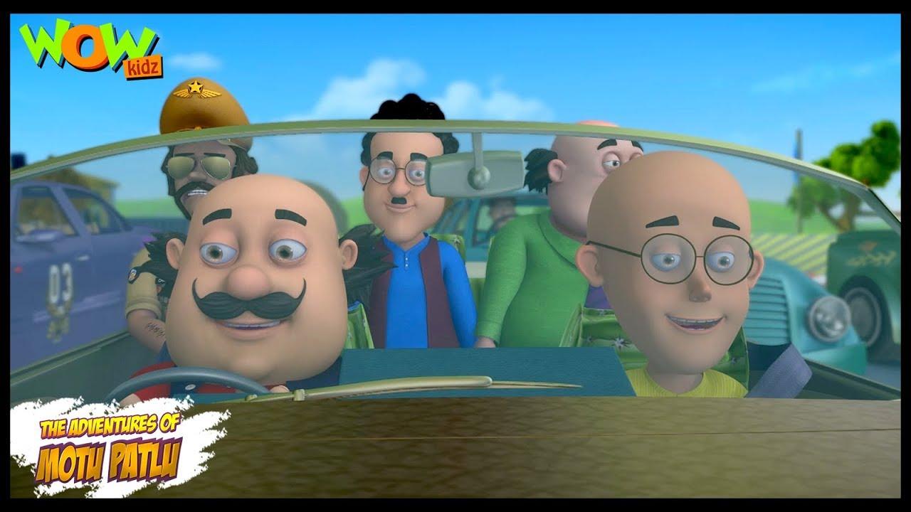 Download Motu Patlu New Episode   Hindi Cartoons For Kids   Motu Ki Race   Wow Kidz