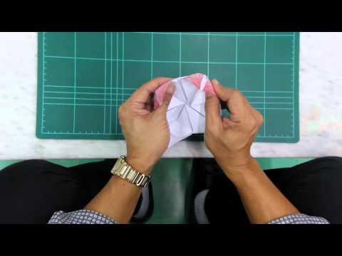 การพับกระทงกระดาษ