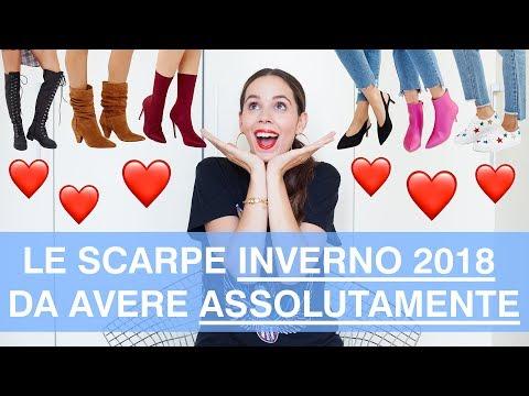 Le scarpe dell'inverno 2018 che ogni fashionista DEVE avere!