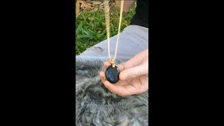 Stone Necklace (and my first ever video!)