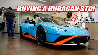 CREATING MY NEW LAMBORGHINI HURACAN STO SPEC! *V10 RACE CAR FOR THE STREET*