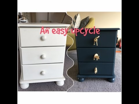 QUICK AND EASY FURNITURE UPCYCLE ¦ KERRY WHELPDALE