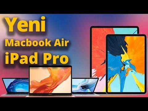 Yeni iPad Pro ve Retina MacBook Air hangi özelliklerle geliyor?