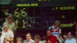 Wimbledon 1984 - John McEnroe vs Jimmy Connors