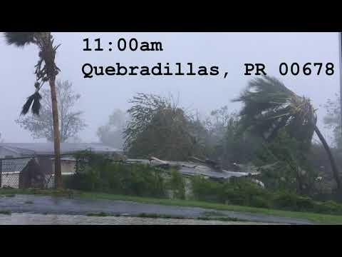 Hurricane Maria in Puerto Rico - September 2017