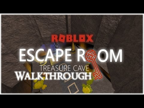 ROBLOX - Escape Room - Treasure Cave Walkthrough