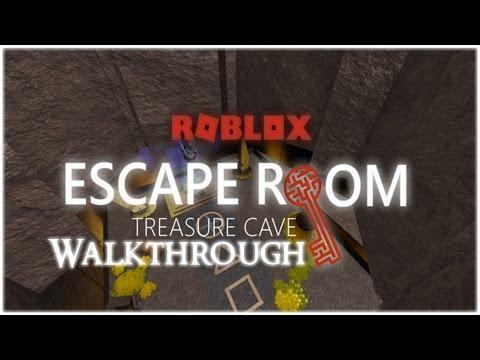 ROBLOX - Escape Room - Treasure Cave Walkthrough
