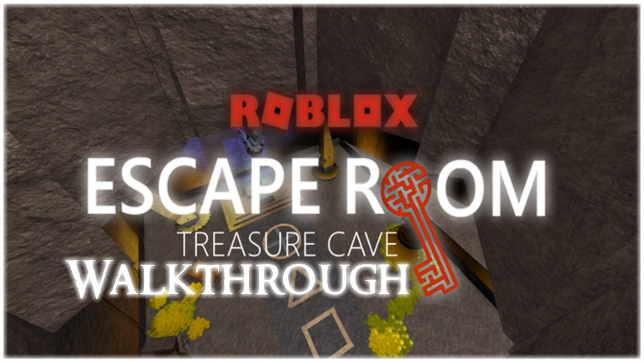 Escape Room Roblox Treasure Walkthrough