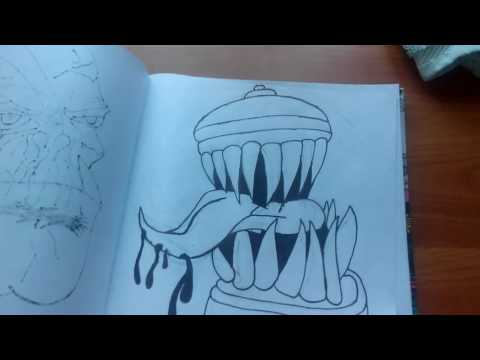 Прикольные рисунки 2016 года часть 1