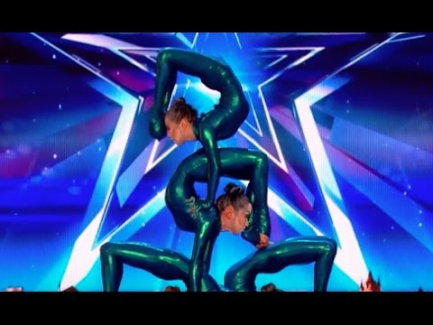 CRAZY UNBELIEVABLE Skills By Angara Contortion | Week 4 | Britain's Got Talent 2017