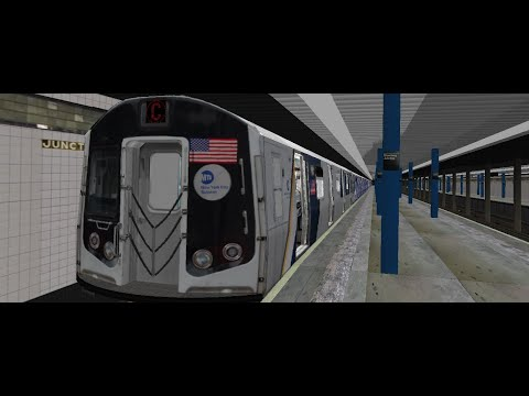 BVE Operation: R160 Andrew Cuomo (C) Train From [205th Street] To [Broadway Junction ENY] | MTA NYCT