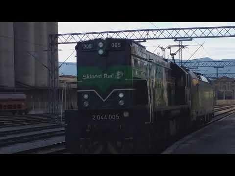 Enna PPD Trans In Rijeka Rail Station