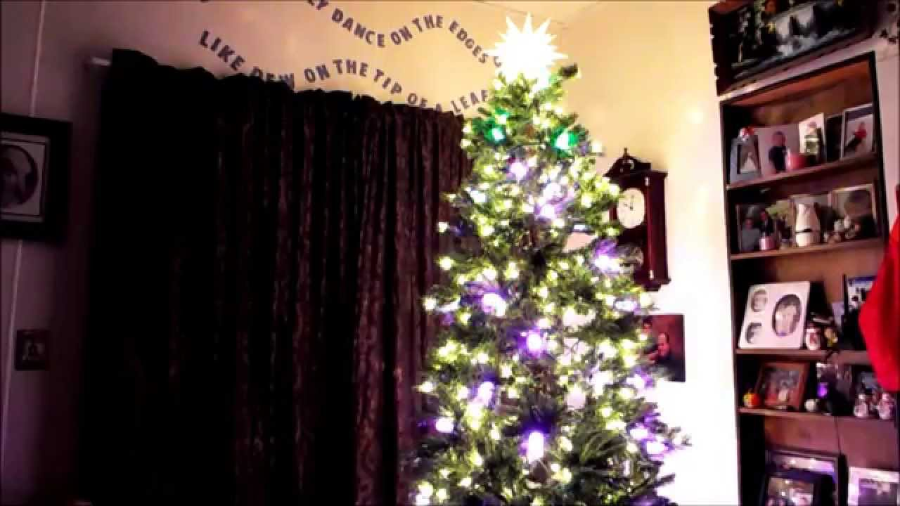 GE ITwinkle Light Christmas Tree - YouTube