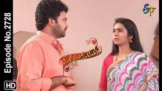 Manasu Mamata | 17th October 2019  | Full Episode No 2728 | ETV Telugu