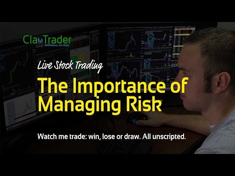 Live Stock Trades - The Importance of Managing Risk