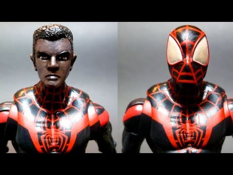 Acba Face Off The Spot Vs Spider Man Amp Custom Figure C