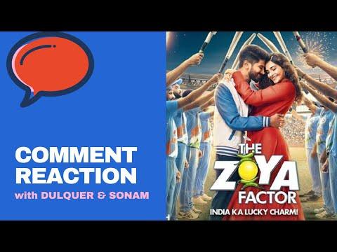 Dulquer Salmaan & Sonam Kapoor react on ZOYA FACTOR trailer comments | Mirchi Prerna Mp3